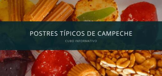 Postres típicos de Campeche