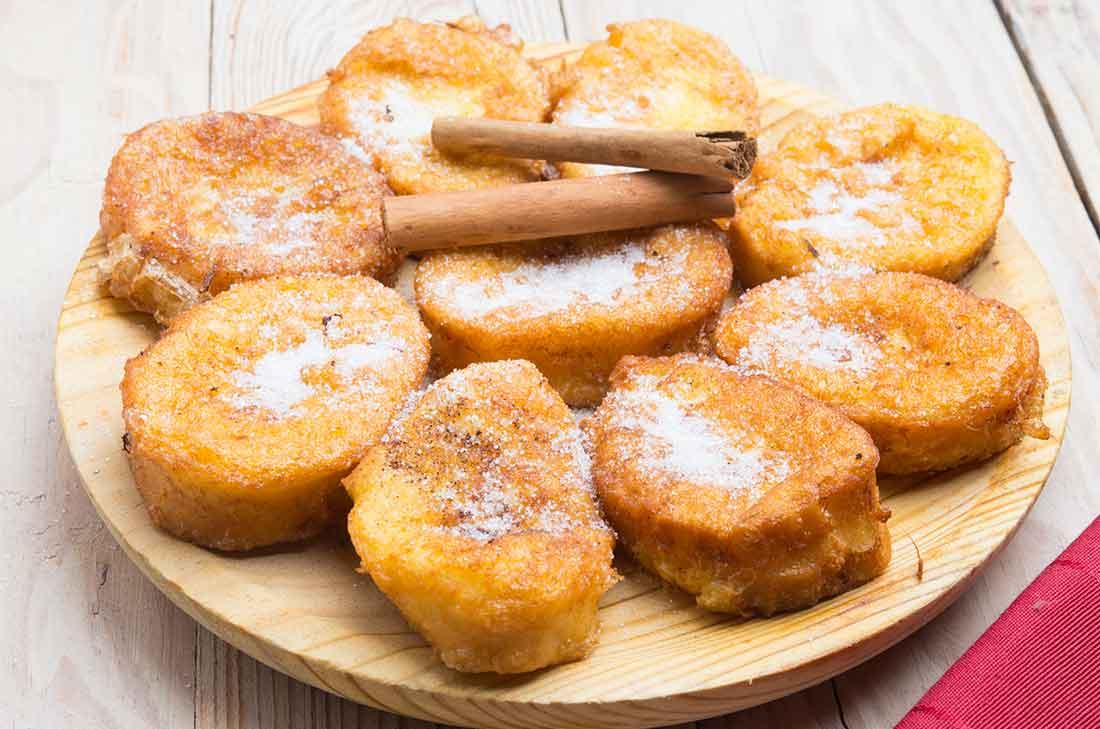 Torrejas o pan frances