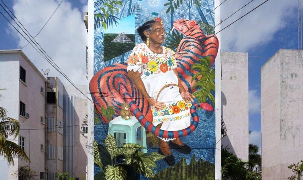 murales de cancun