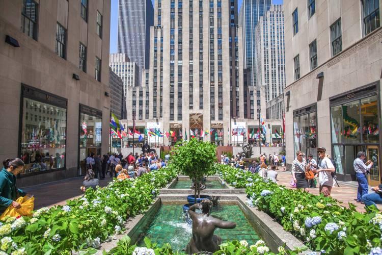 Rockefeller Center que ver y hacer en nueva york