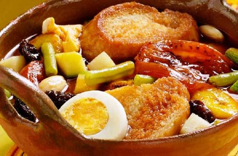Sopa de pan gastronomia de chiapas