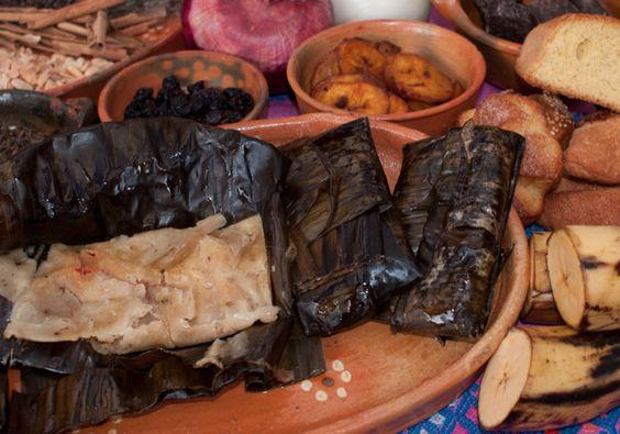 Tamal de Chipilín platillo de chiapas