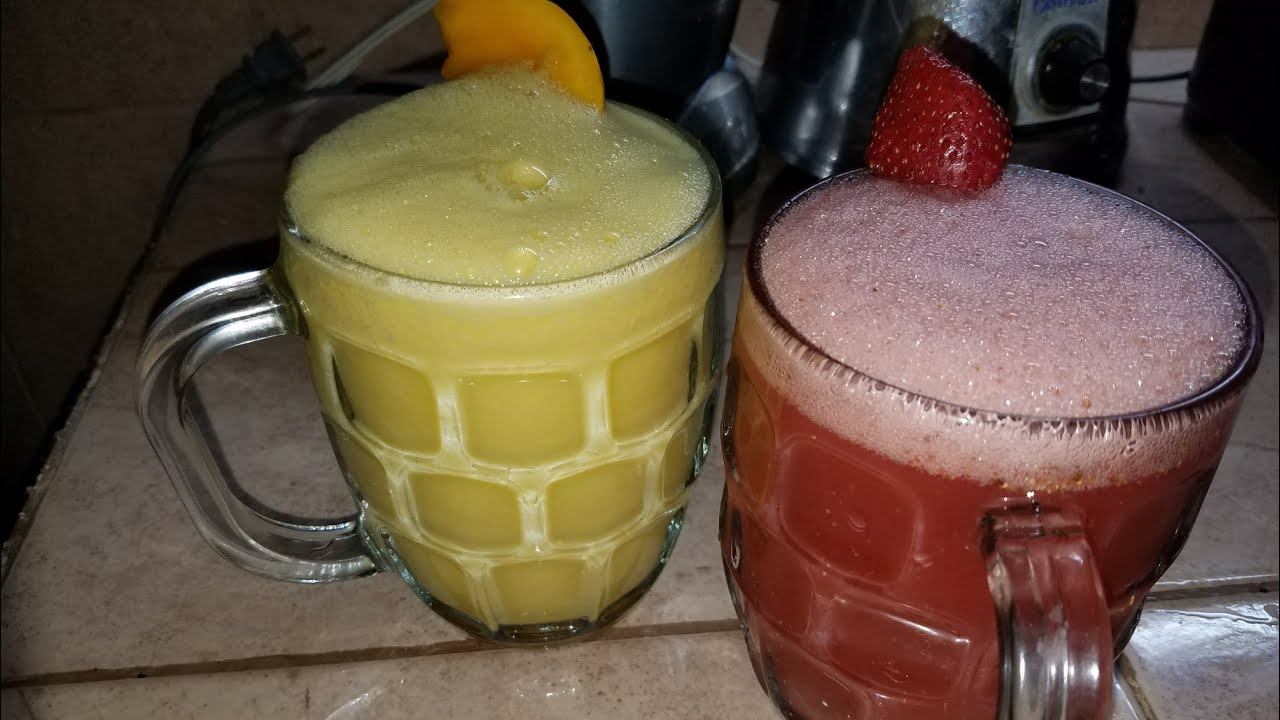 Curado de Frutas bebidas tipicas de tlaxcala