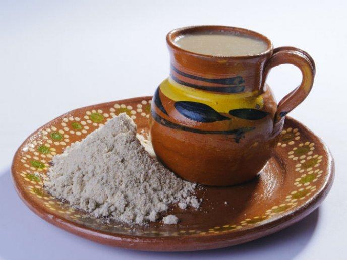pinole bebida oaxaqueña