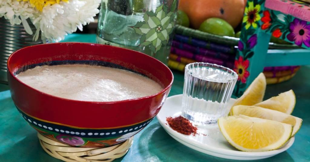 Tejate bebidas tradiconales de Oaxaca