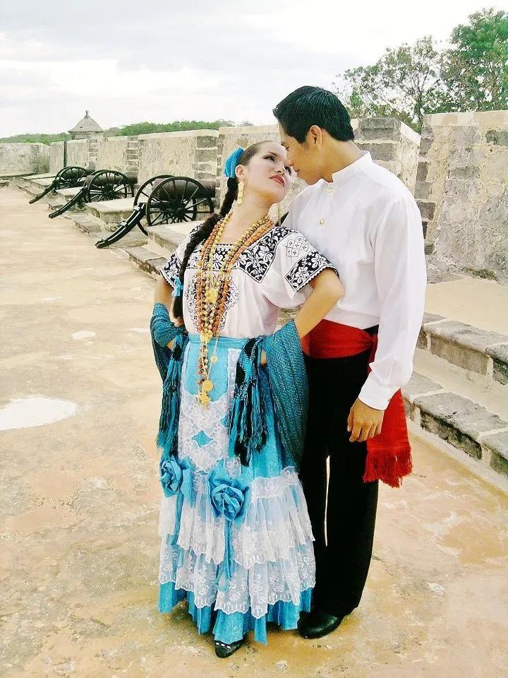 traje tipico mujer y hombre baja californoa norte