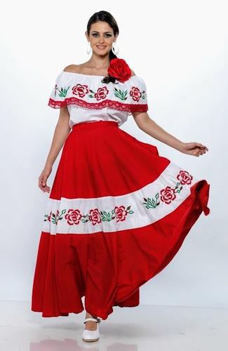 Traje típico de mujer de Zacatecas