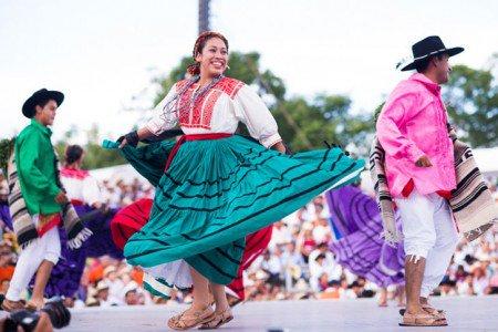Trajes Típicos de Oaxaca de Chenteña de Ejutla de Crespo