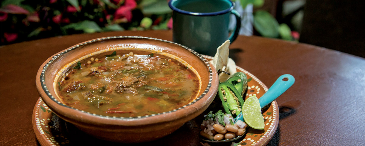 Duranguense broth Durango food