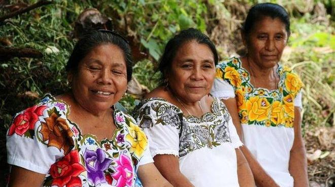 ropa indigena de quintana roo