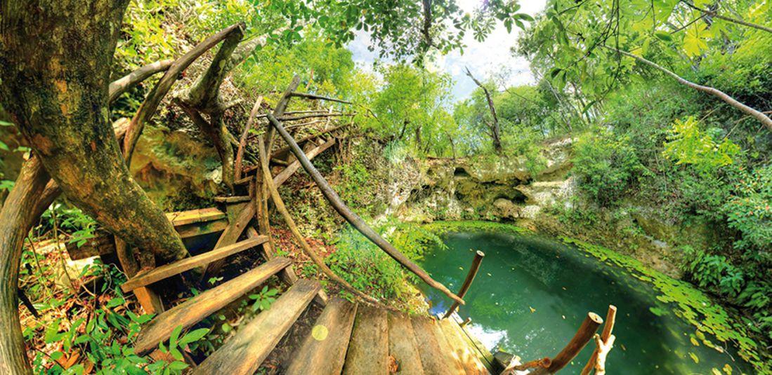 ruta de los cenotes que visitar en cancun