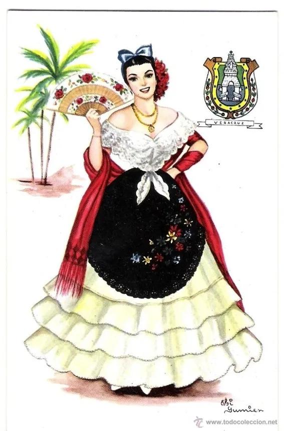 traje tipico y tradicional de veracruz