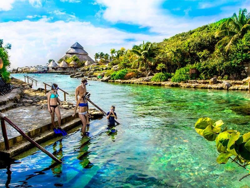 xcaret actividad en cancun