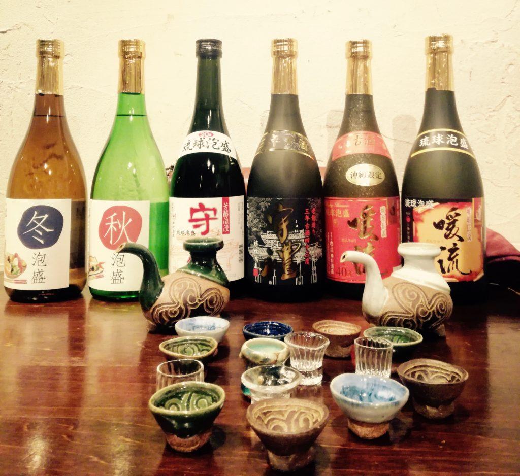 Awamori bebidas tipicas de japon
