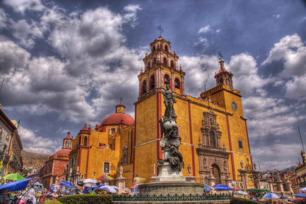 Basílica de Guanajuato lugar turistico de Guanajuato