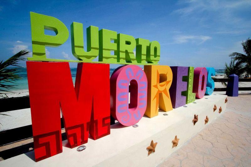 Letras de Puerto morelos