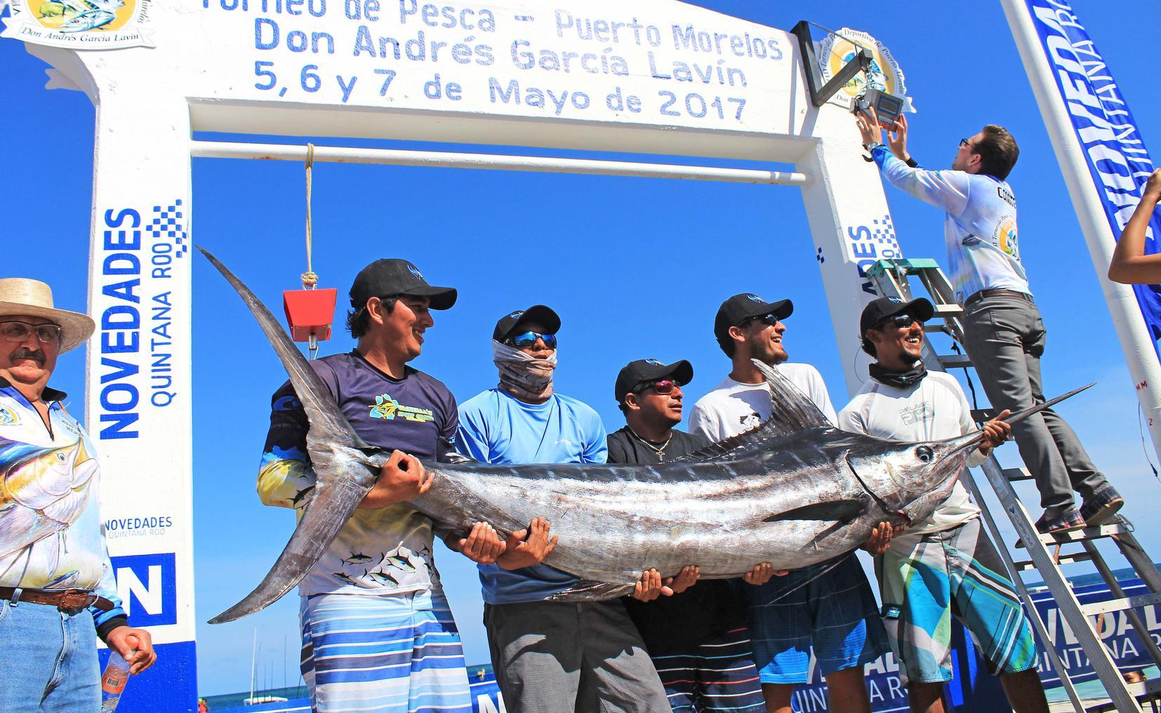 pesca deportiva de puerto morelos