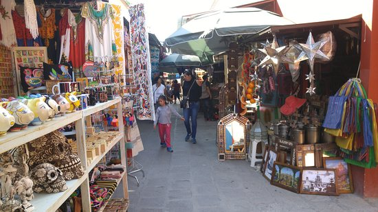 Mercado de Artesanías san miguel de allende