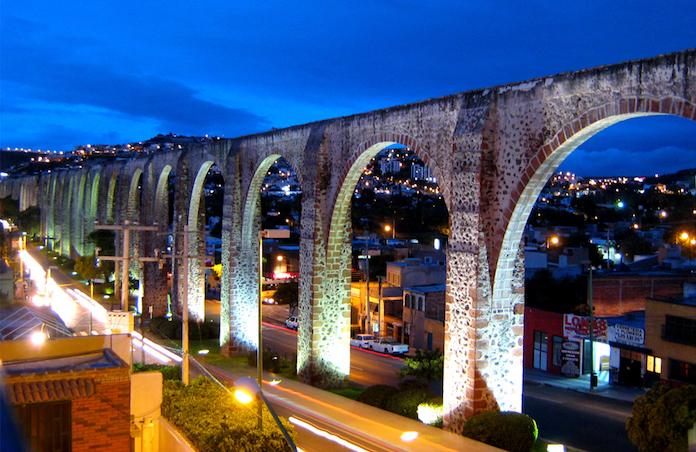 Acueducto de Querétaro atractivo turistico