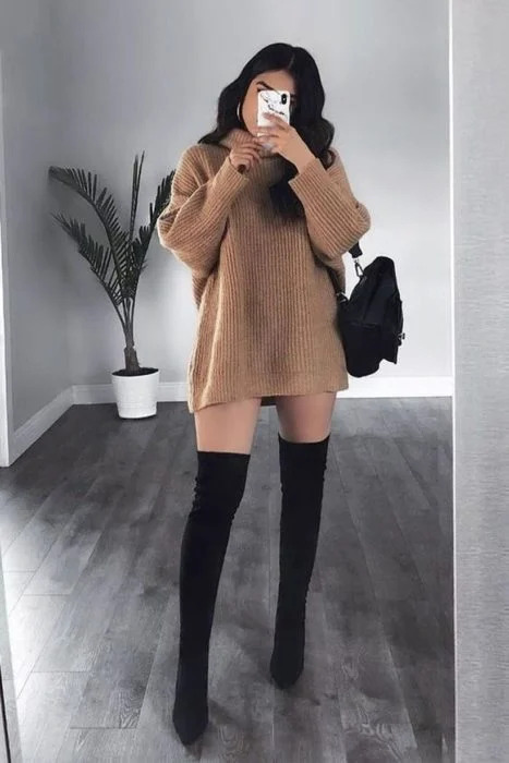 outfit mujer navidad