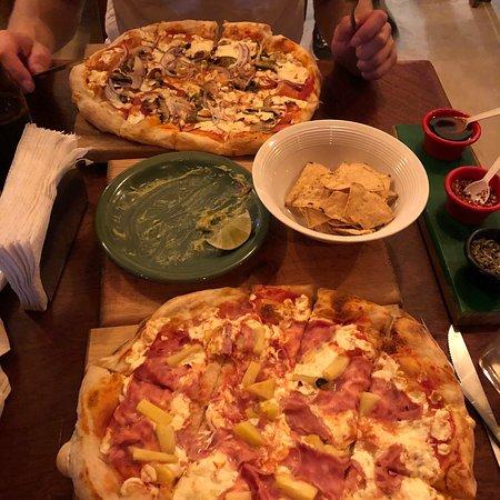 pizza de langosta en holbox