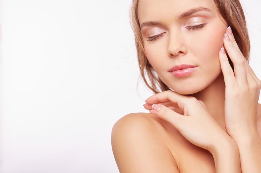 El zinc cuidado de la piel joven