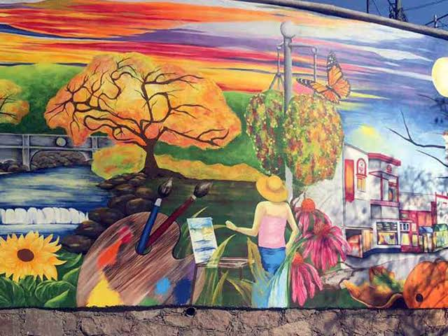 Mural de la Hermandad playas de tijuana