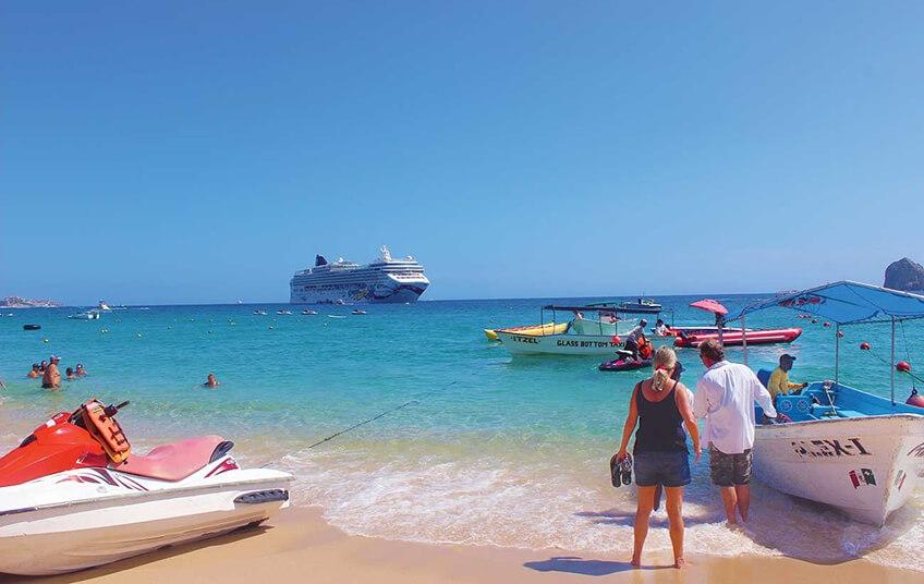 Playa Medano playa de los cabos