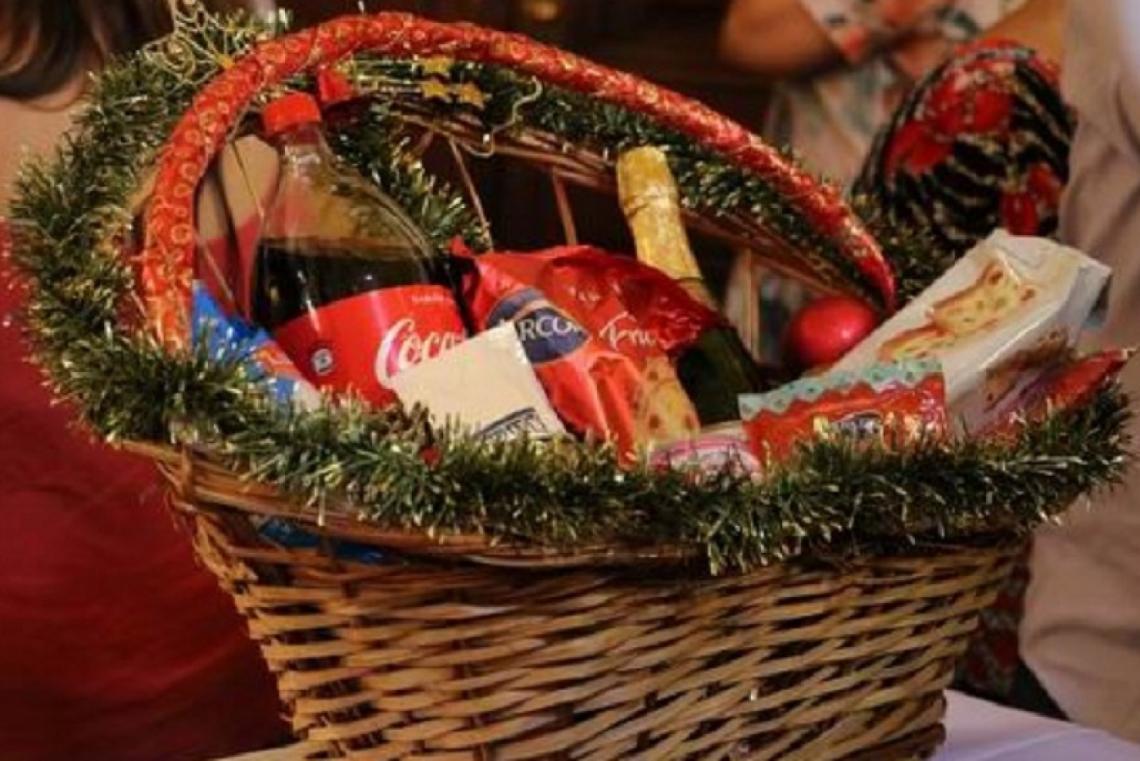 canasta navideña tradicionales