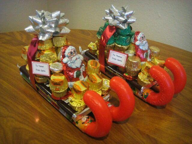 trineos dulces navideños