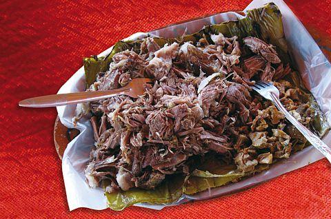 Barbacoa comida tradicional de morelos