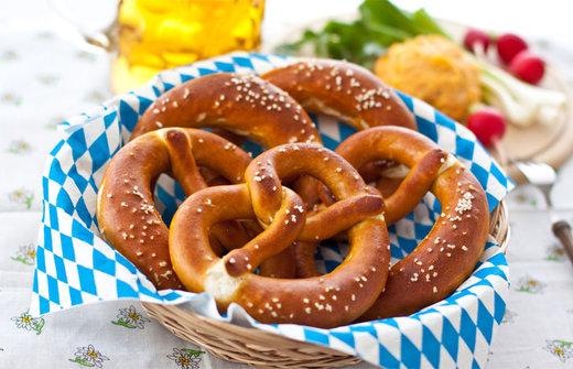 Brezel alemania comida