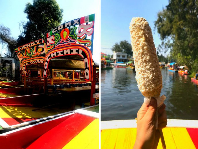 Comida típica de Xochimilco