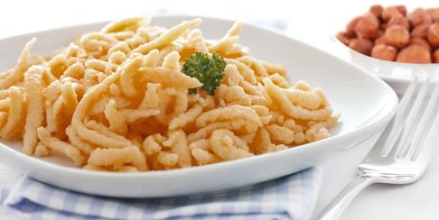 Spatzle pasta de alemania gastronomia