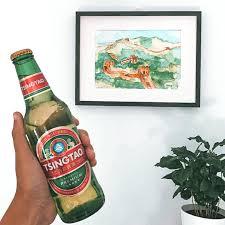 Tsingtao cerveza popular de china