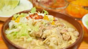 Pozole batido de la gastronomia michoacana