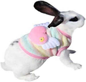 Ropa para conejo parche corazón