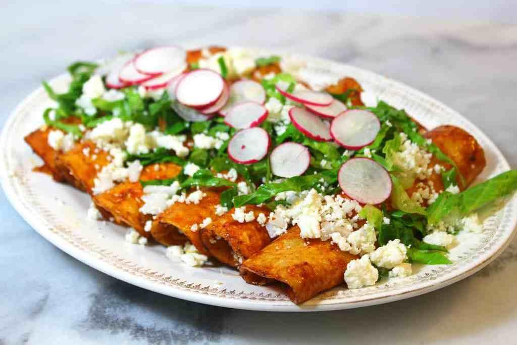 Enchiladas cenas rapidas y sencillas de mexico