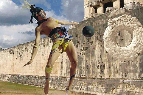 Juego de Pelotas de los Mayas