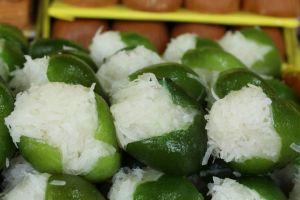 Limones rellenos de coco dulces y postres poblanos