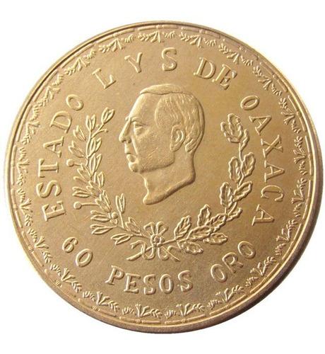 Moneda de oro provisional de Oaxaca
