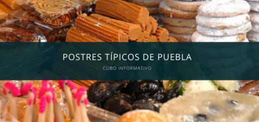 Postres típicos de Puebla