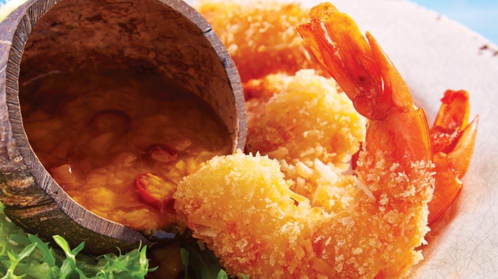 Camarones al coco gastronomia jarocha