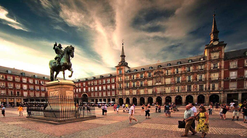 Plaza Mayor de madrid españa