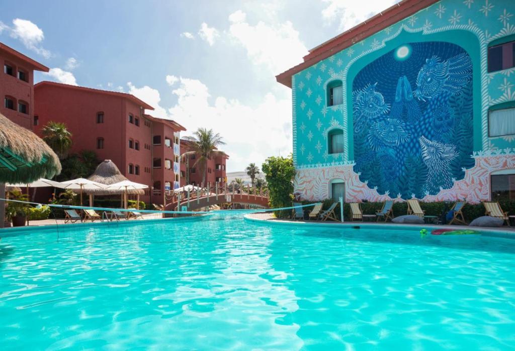 Selina Cancun Laguna -hoteles economcos zona hotelera de cancun