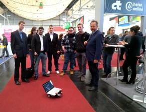 Rover makes new friends at CeBIT