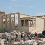 Cariatidi nell'Eretto_Acropoli Atene