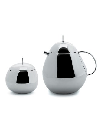 Alessi Teapot and Kitchen Box