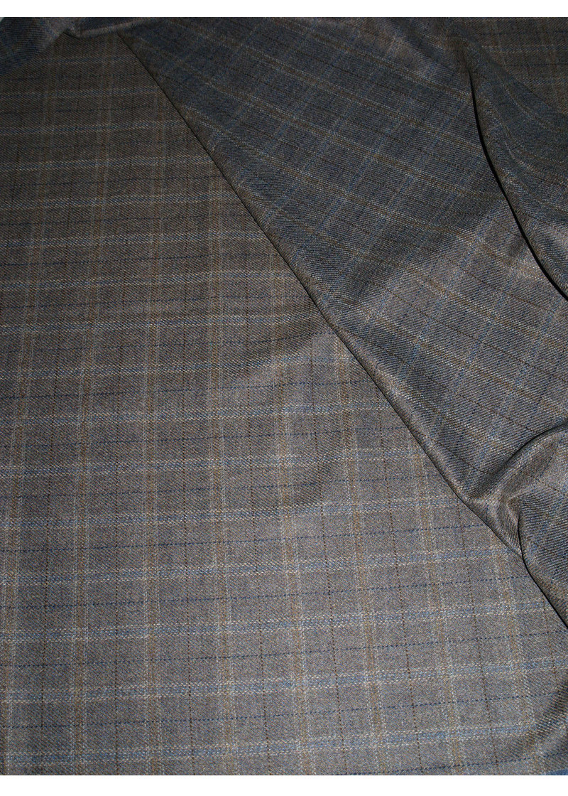 Fabric Brown Pure Wool
