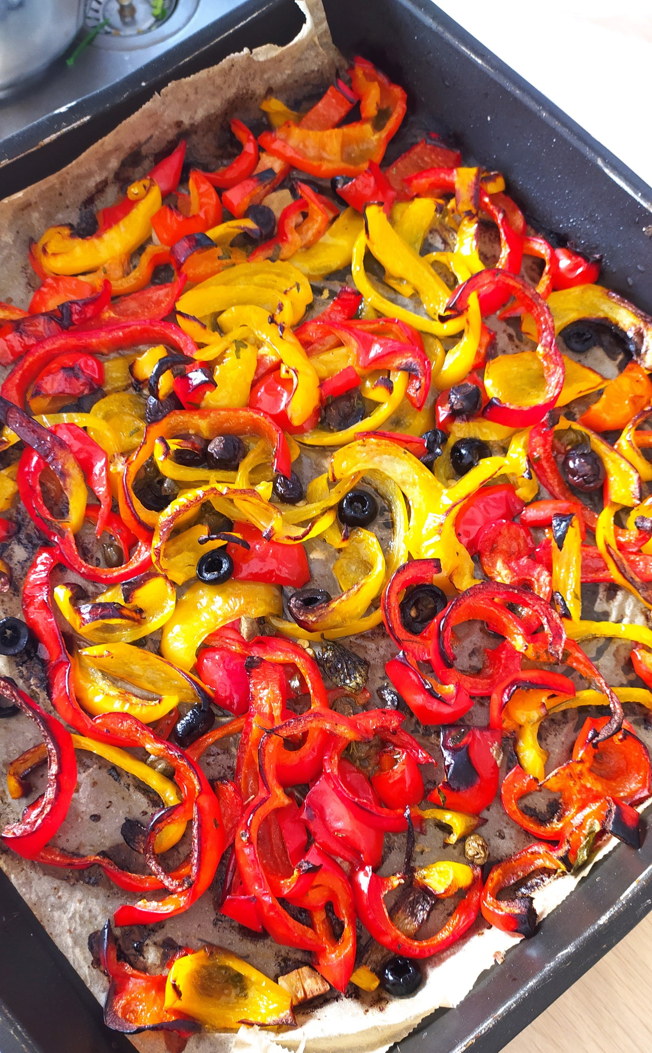 baked peppers